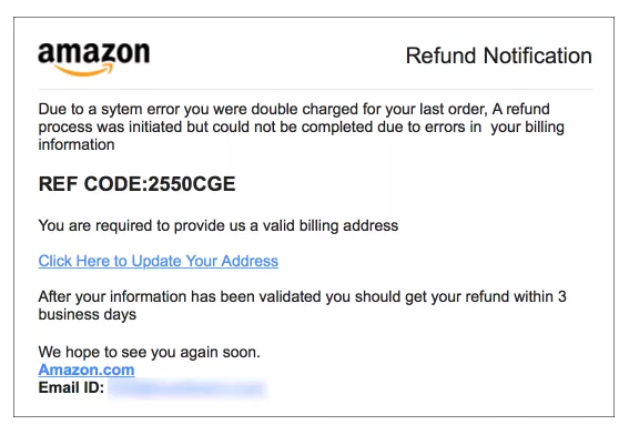 Fake Social Media And Amazon Phishing Scams To Watch Out For
