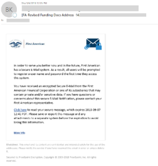Mortgage Phishing Emails