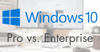 upgrade windows professional to enterprise