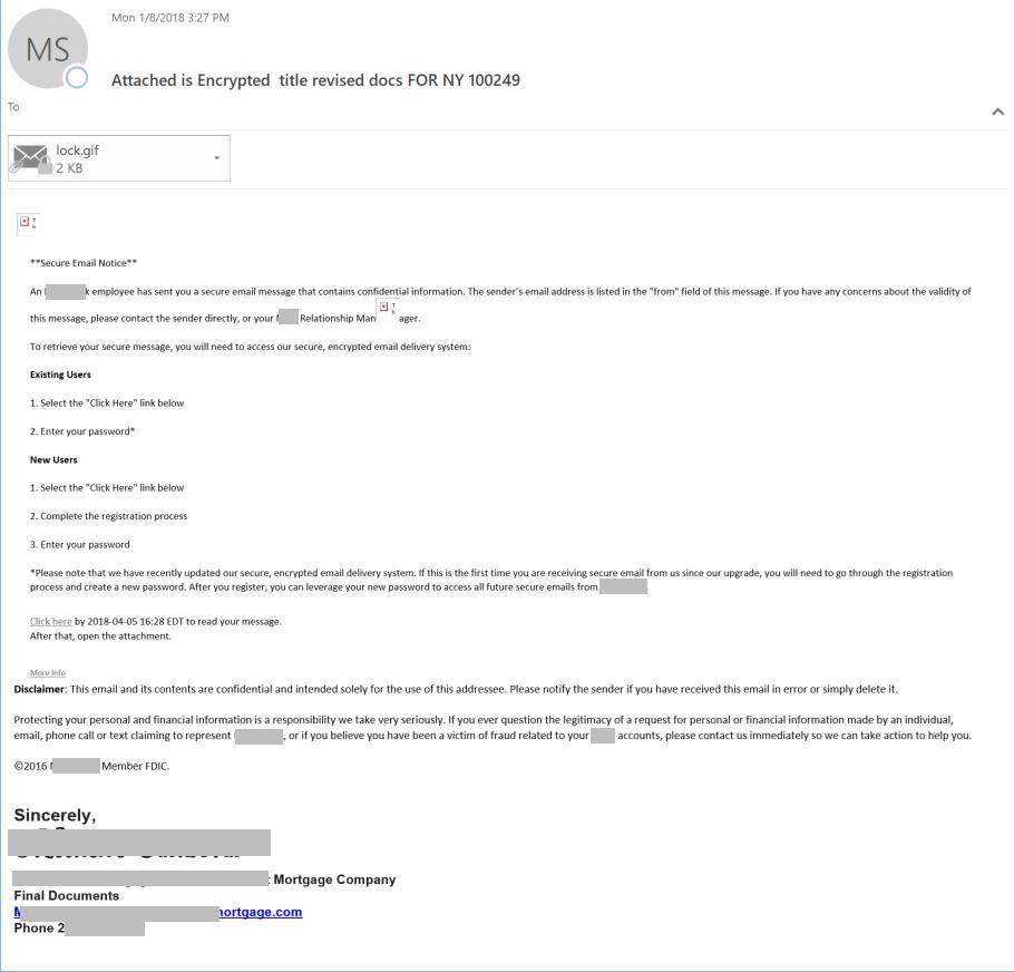 title phishing
