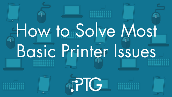 How to Solve Most Basic Printer Issues