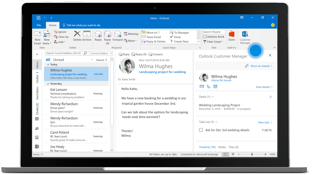 Outlook_customer_manager