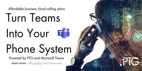 Teams Voice Ad