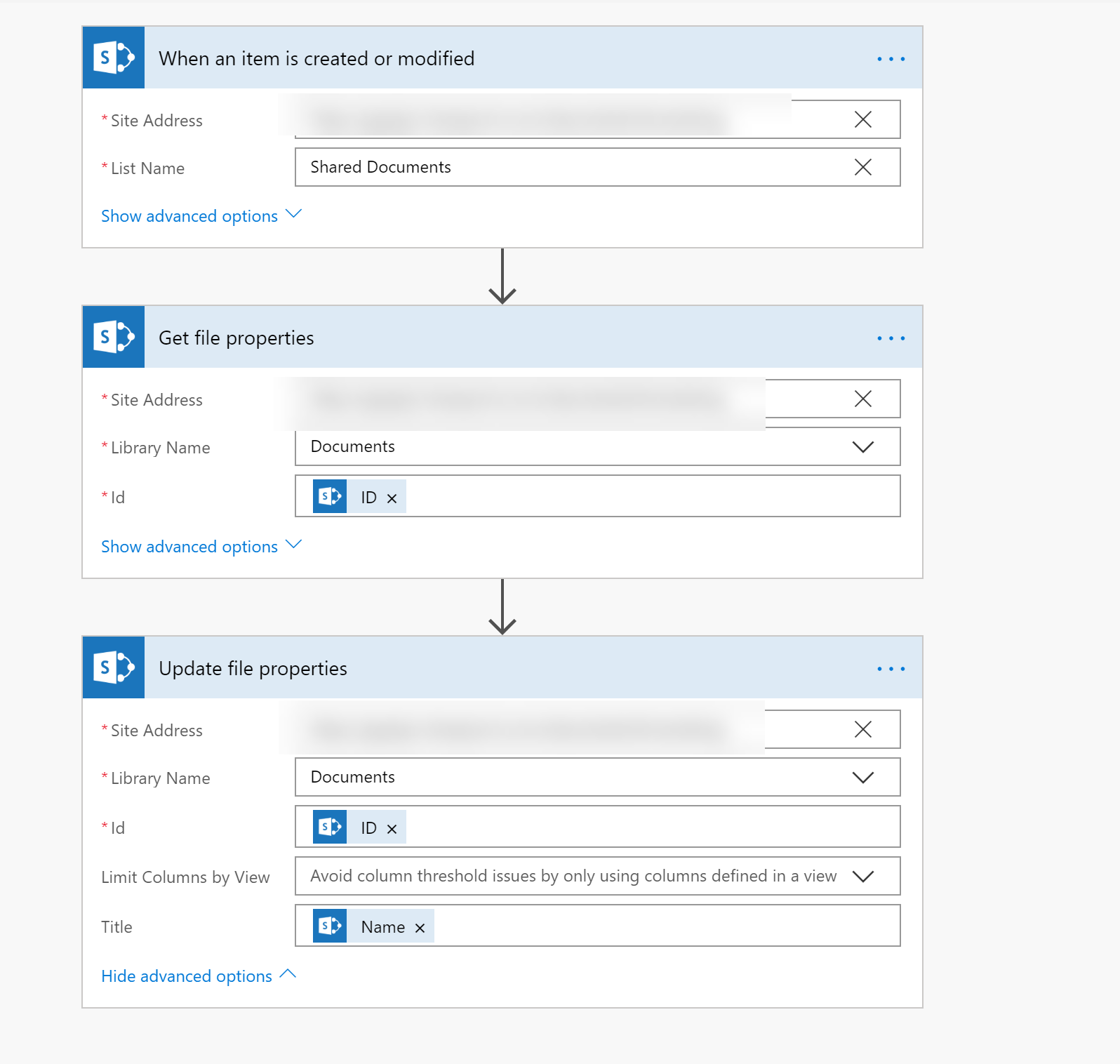Use Microsoft Flow to Match SharePoint File Names to Titles
