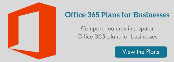 Office 365 Plans for Businesses