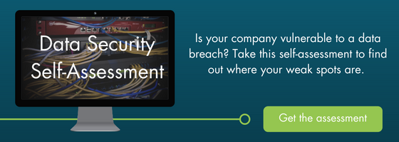 Download the data security self assessment