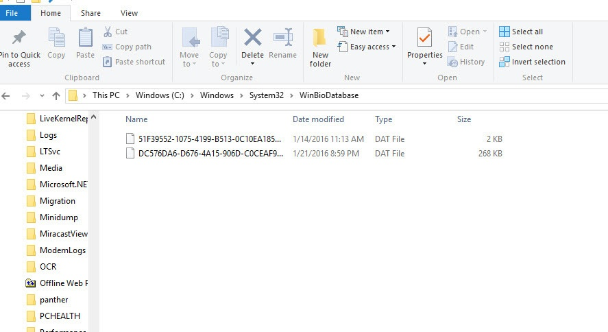 How to Reset Windows Hello Biometrics